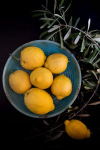 Lemons straight from the tree