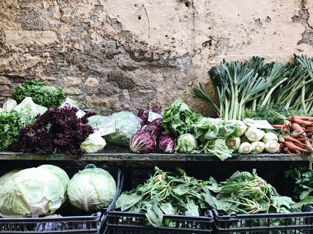 Corfu vegetables